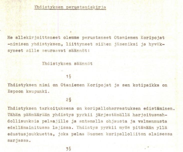 OKoPo - Perustamiskirja - Alku