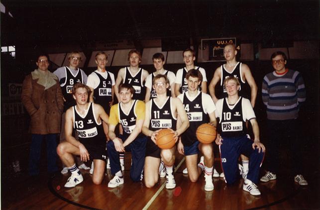 PUS-Basket - Kevät 1985 - Suomisarja